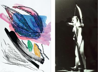 Ulrike Rosenbach, Zeichnungen