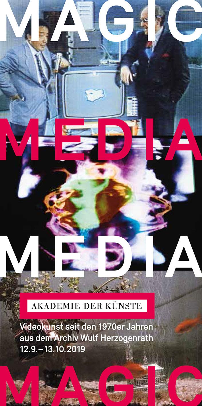 Ulrike Rosenbach, Magic Media, Akademie der Künste