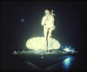 Ulrike Rosenbach, Reflexionen über die Geburt der Venus, 1975