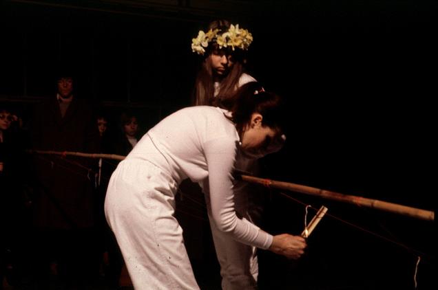 Ulrike Rosenbach, Narzissen scheiden weg, 1980