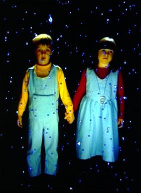 Ulrike Rosenbach, Im Palast der Neugeborenen, Videoraum (1997)